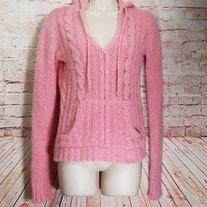 ❤Lilu   Cable Knit Sweater w/Kangaroo Pockets NWOT